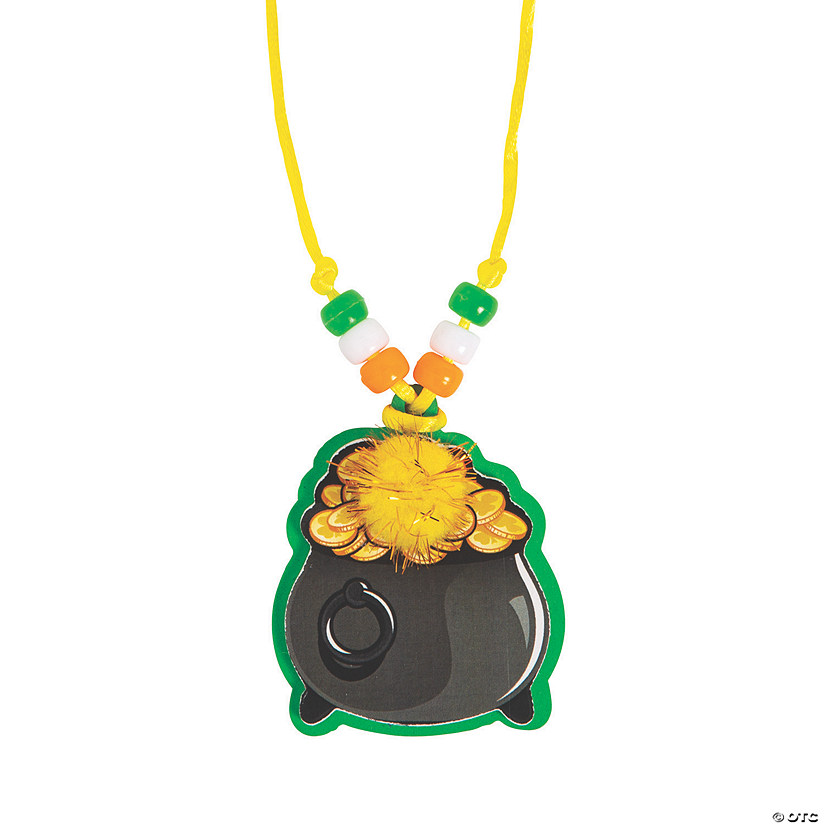 Pot of Gold Necklace Craft Kit Image Thumbnail