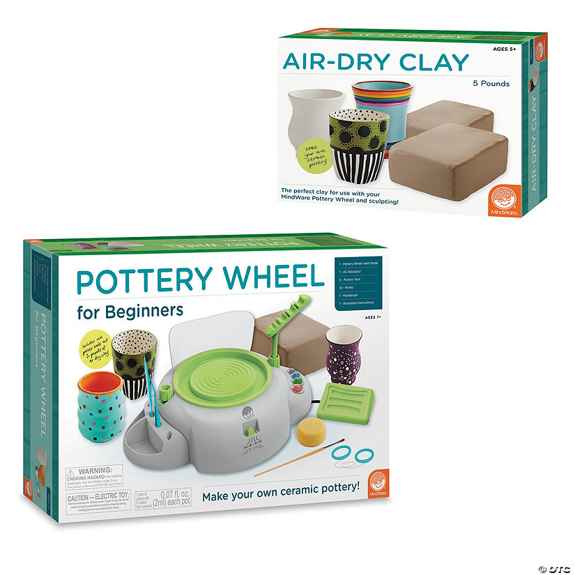 Pottery Wheel For Beginners with Clay Refill Image Thumbnail