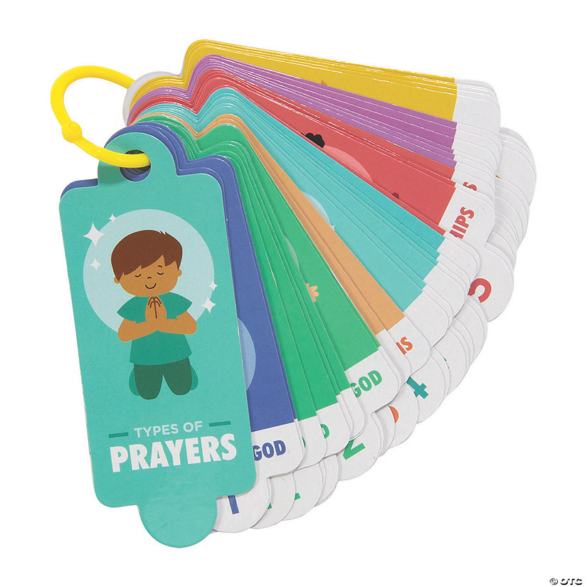Prayer Starter Cards on a Ring Image Thumbnail