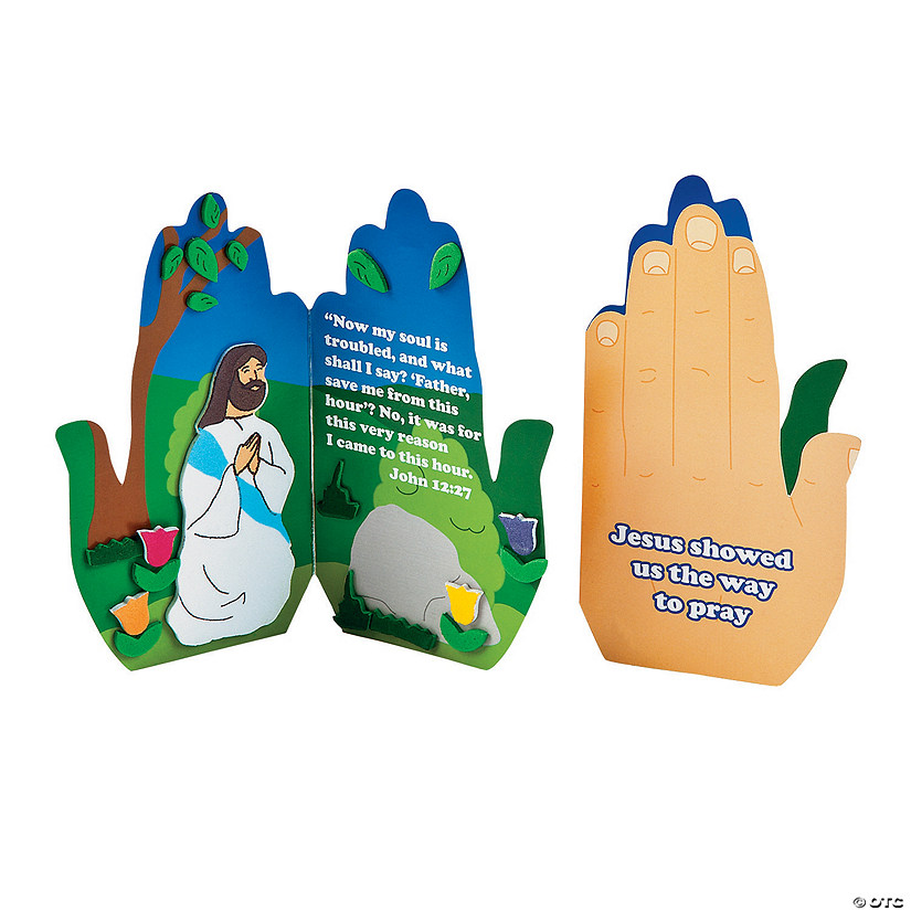 Praying in the Garden Handprint Craft Kit Audio Thumbnail
