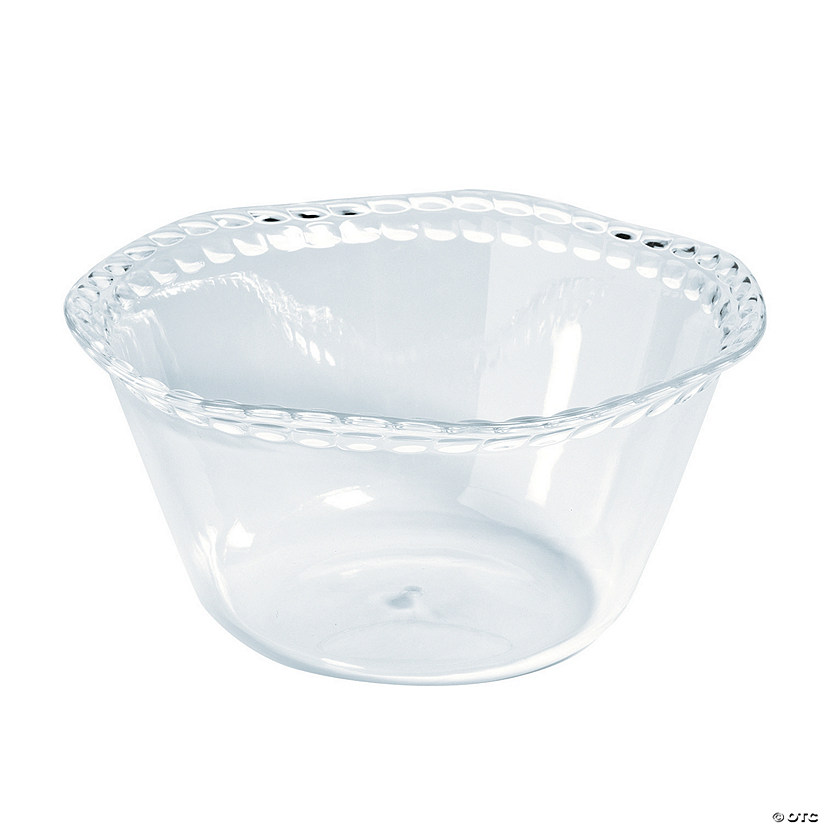 Premium Clear Salad Bowl
