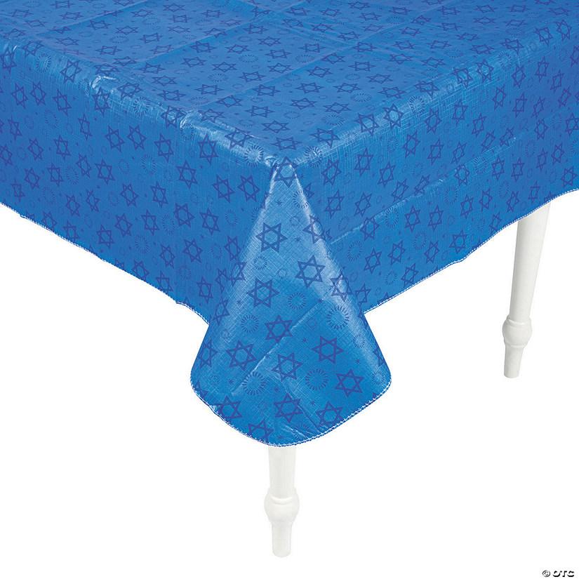 Premium Hanukkah Vinyl Tablecloth Oriental Trading