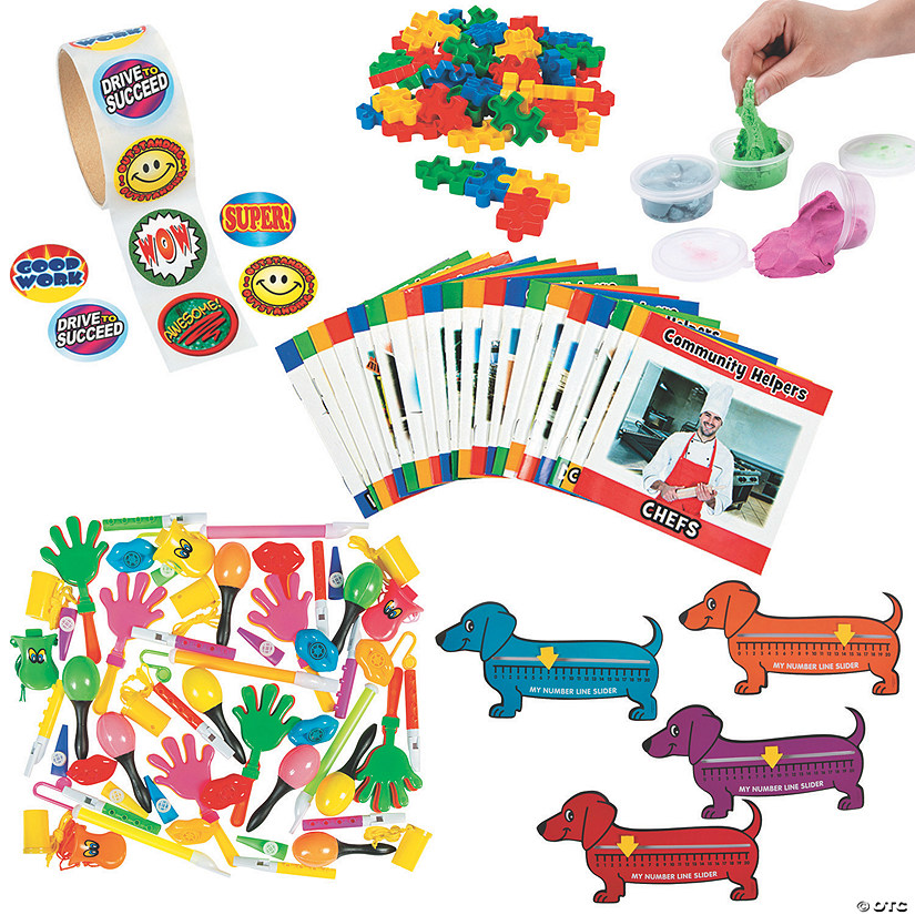 Preschool Learning & Incentive Kit Image Thumbnail