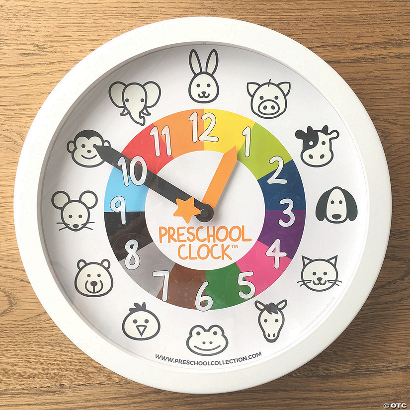 Preschool Wall Clock Audio Thumbnail