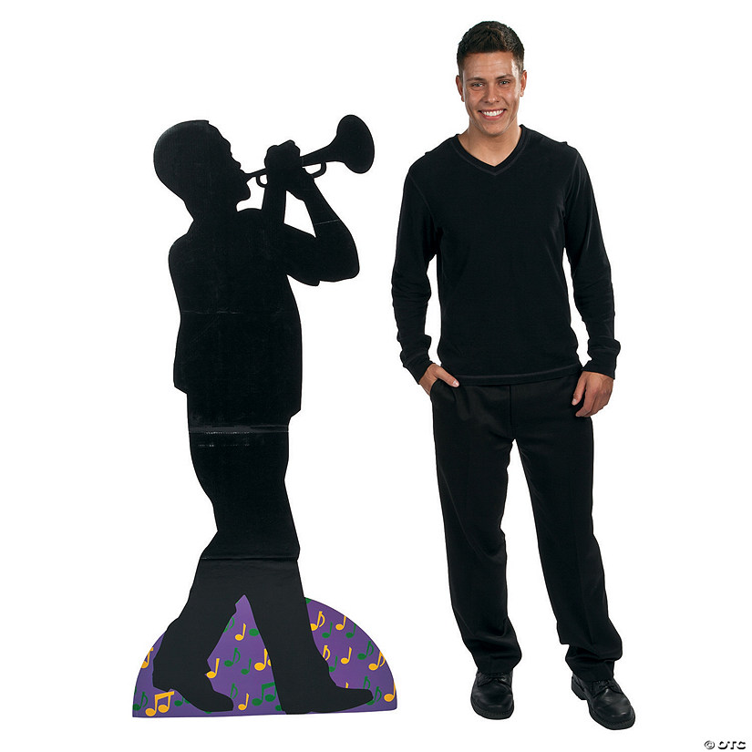 Preservation Hall Trumpet Player Cardboard Stand-Up Audio Thumbnail