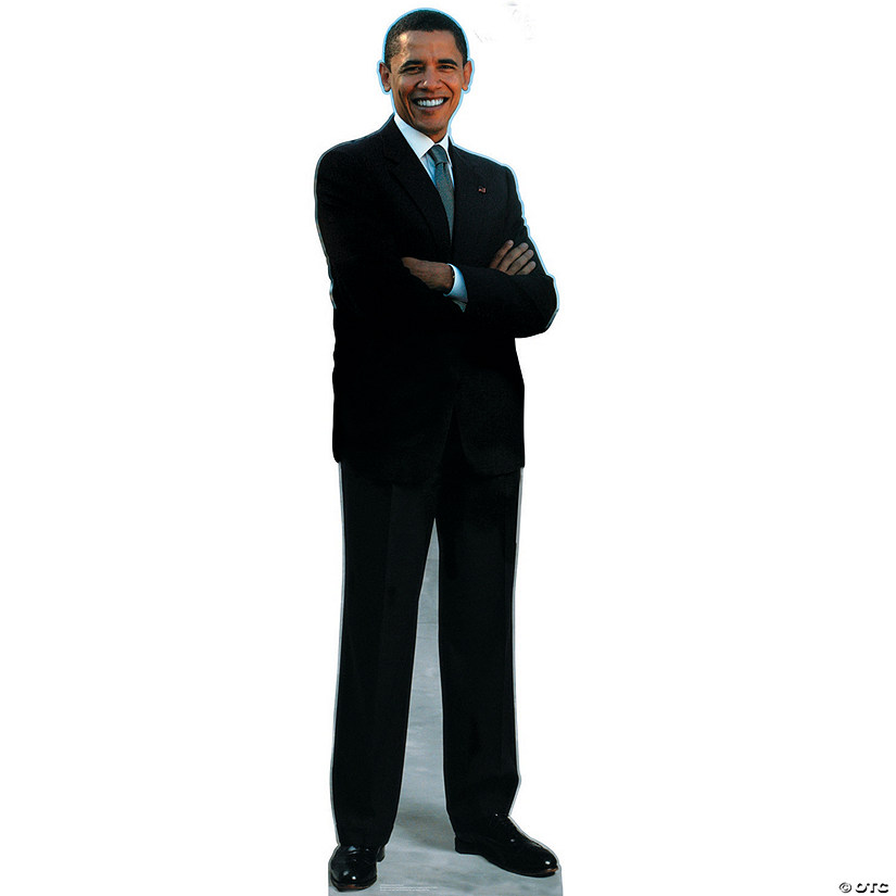 President Barack Obama Cardboard Stand-Up Audio Thumbnail