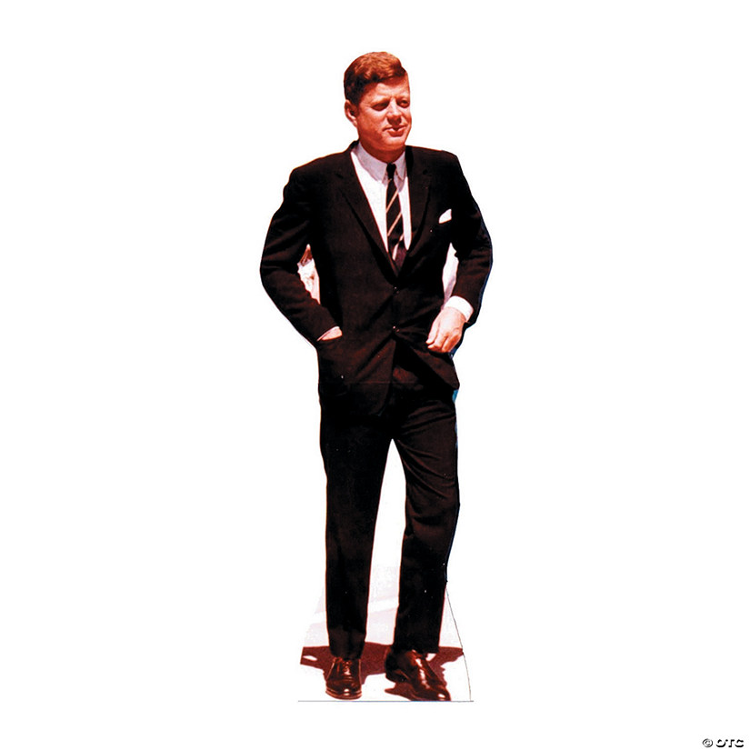 President John F. Kennedy Cardboard Stand-Up Audio Thumbnail