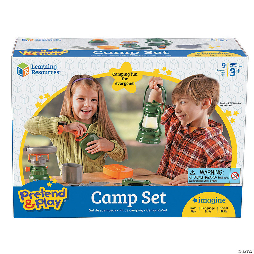 Pretend And Play Camp Set Audio Thumbnail