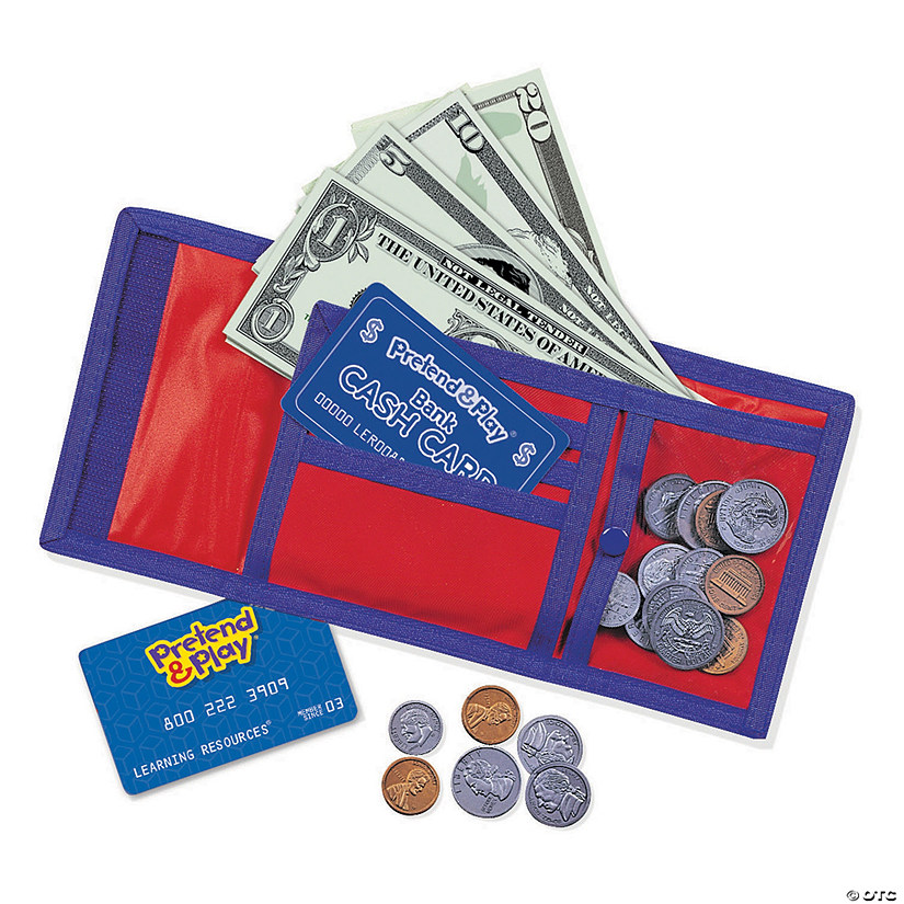 Pretend and Play: Cash N Carry Wallet