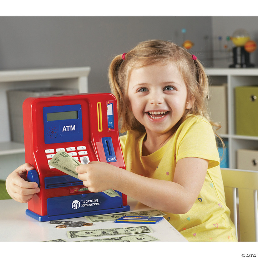 Pretend and Play: Teaching ATM Bank Audio Thumbnail