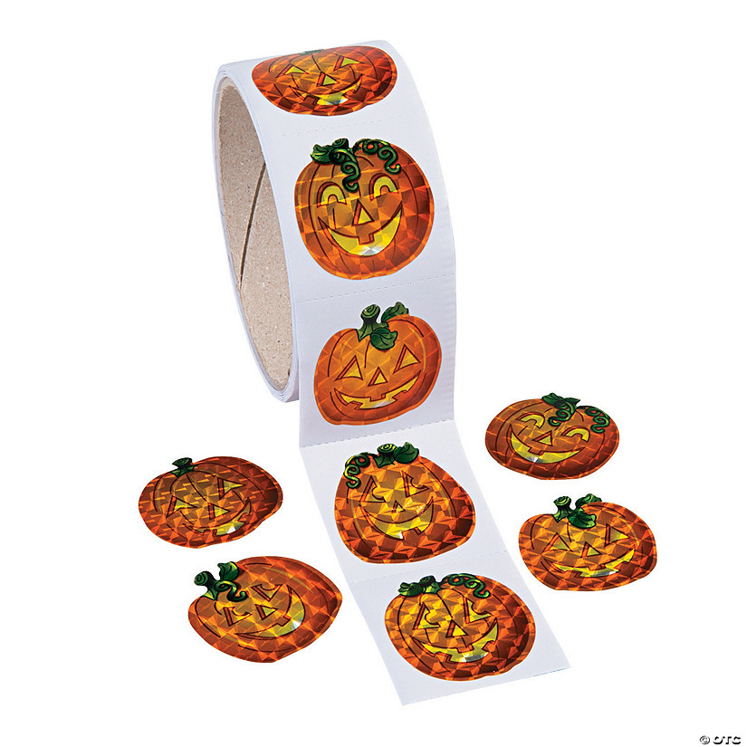 Prism Pumpkin Stickers Image Thumbnail