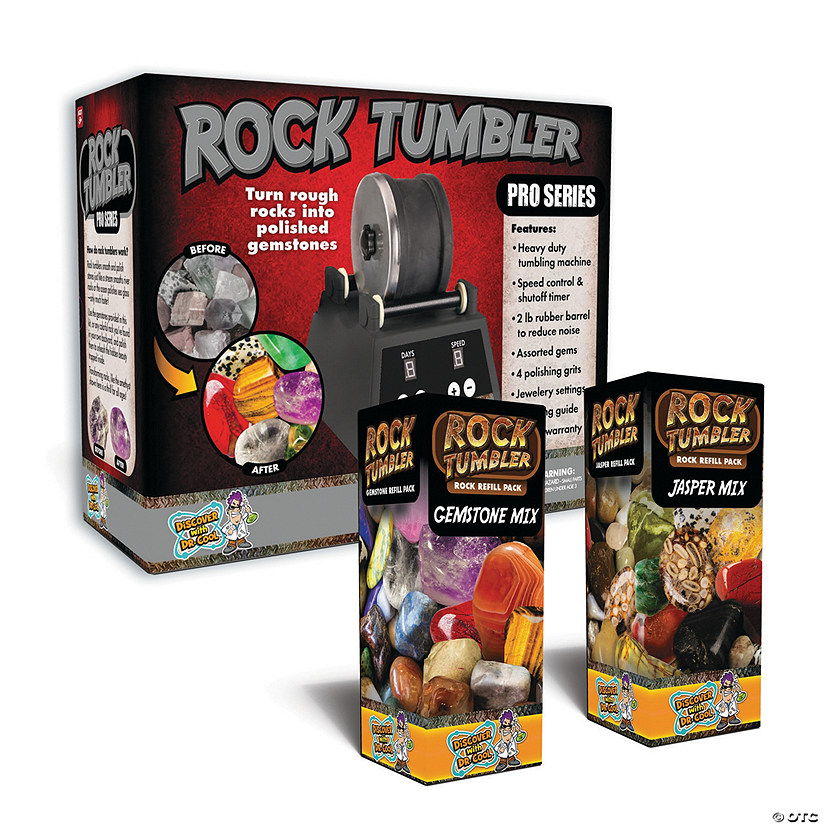 Pro Series Rock Tumbler and Refill Kit Set of 2 Image Thumbnail