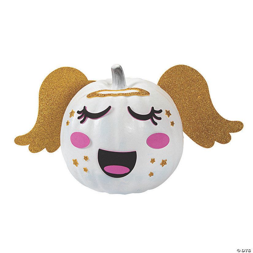 Pumpkin Angel Decorating Craft Kit Image Thumbnail