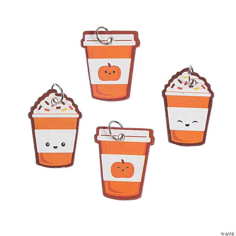 Pumpkin Spice Chipboard Charms Image Thumbnail