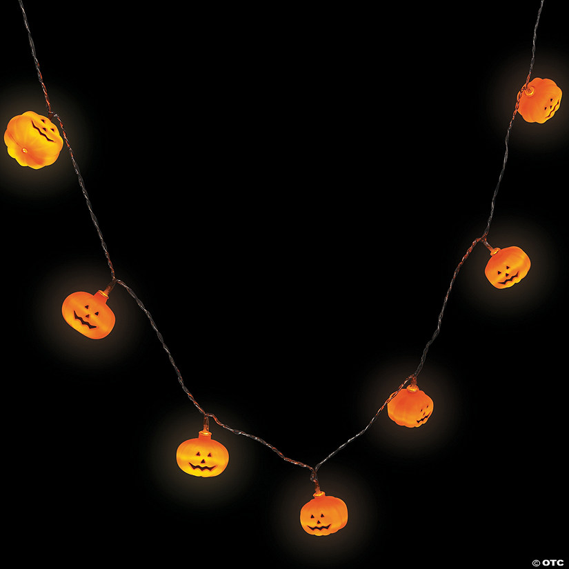 Pumpkin String Lights Halloween Décor
