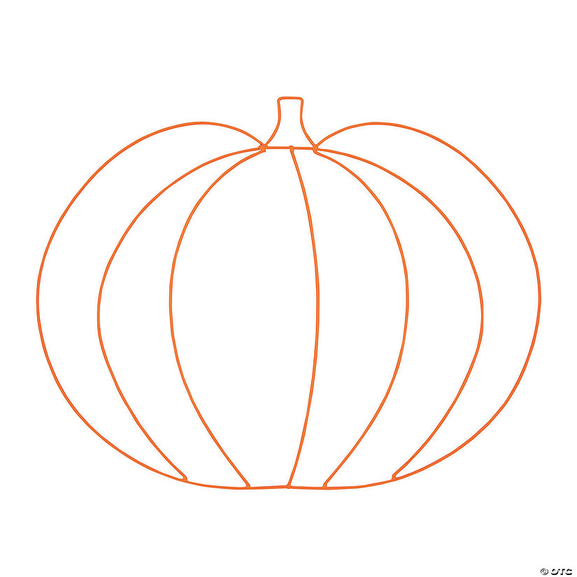 Pumpkin Wire Wreath Frame Audio Thumbnail