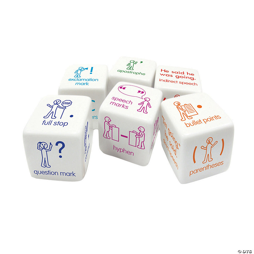 Punctuation Dice Set Audio Thumbnail