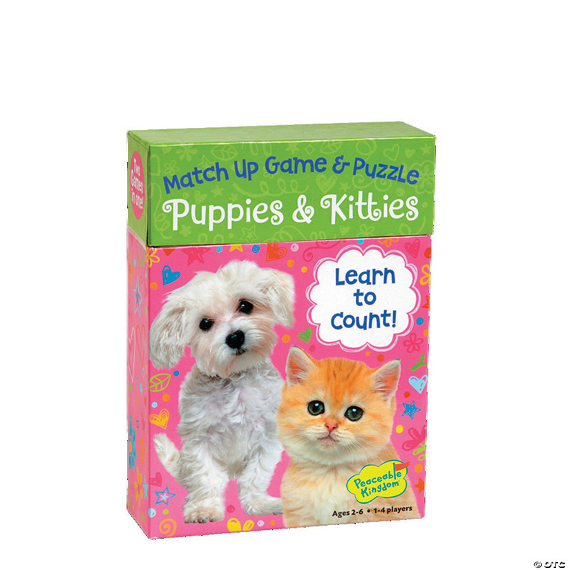 Puppies & Kitties Doodle Match Up Game Image Thumbnail