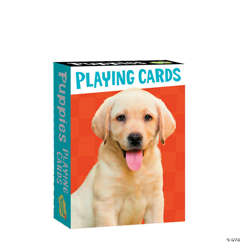 Puppies Playing Card Pack Image Thumbnail