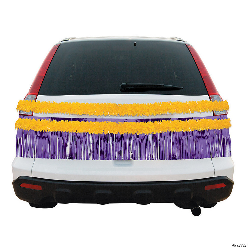 Purple & Gold Car Parade Decorating Kit Audio Thumbnail
