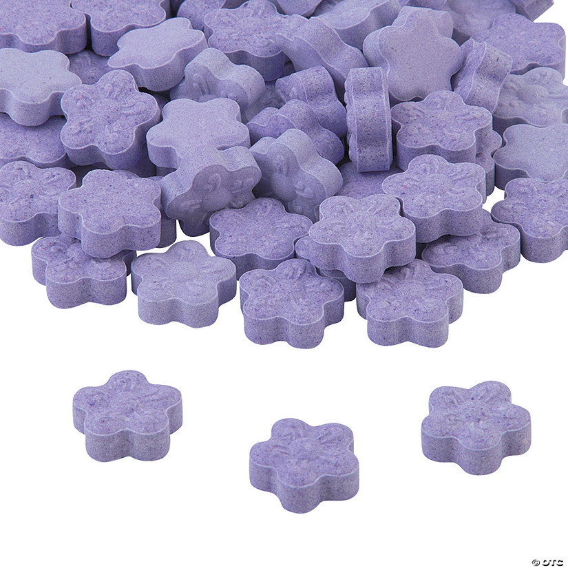 Purple Candy Flowers