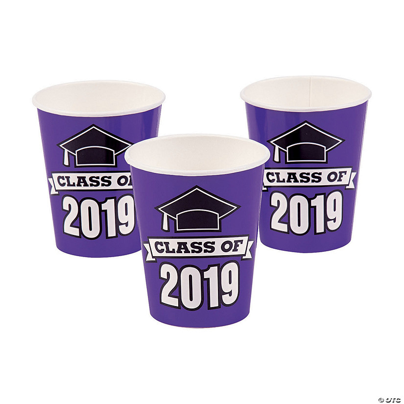 Purple Class of 2019 Paper Cups Audio Thumbnail