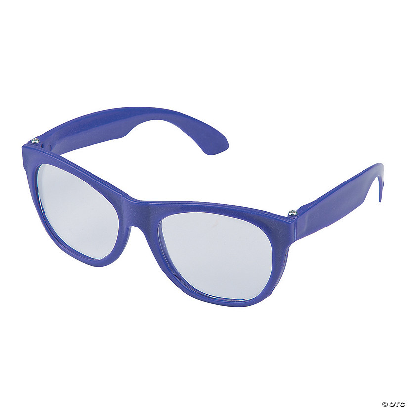 Purple Clear Lens Glasses - 12 Pc. Audio Thumbnail