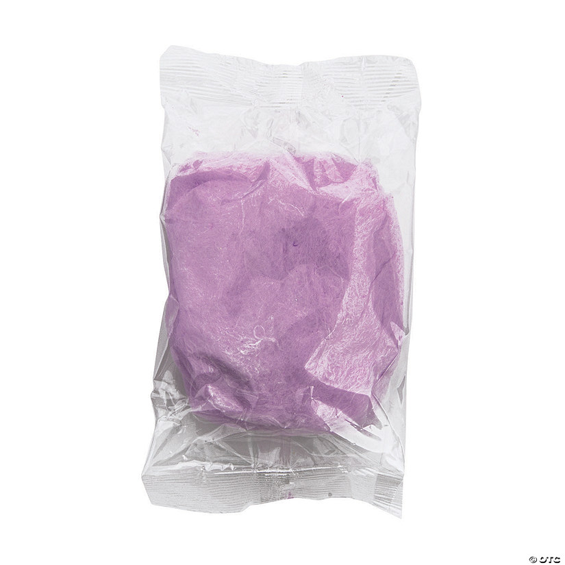 Purple Cotton Candy Favor Packs