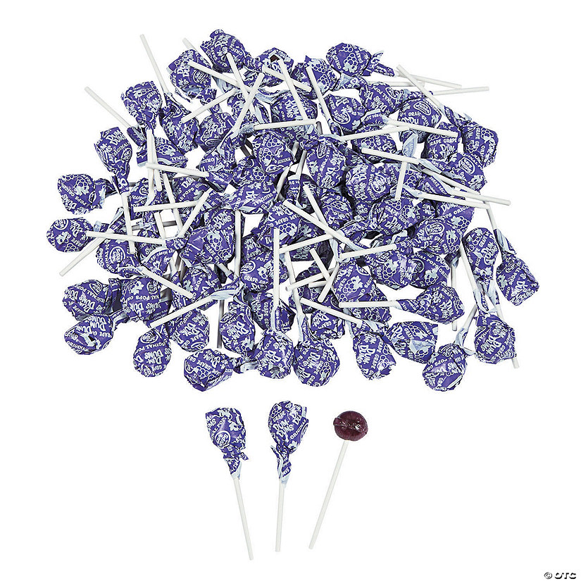 Purple Dum Dums<sup>&#174; </sup>Solid Color Lollipops Audio Thumbnail