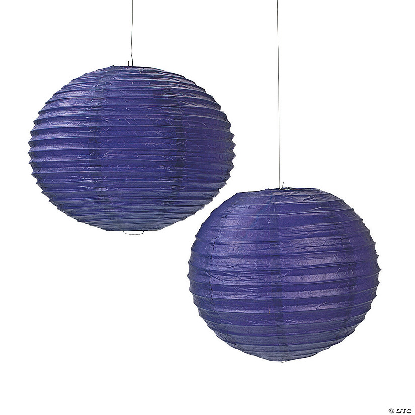 Purple Hanging Paper Lanterns Audio Thumbnail