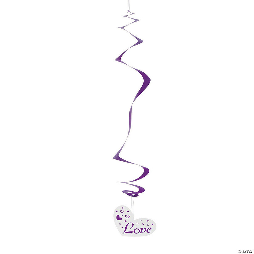 Purple Love Wedding Hanging Swirls Audio Thumbnail