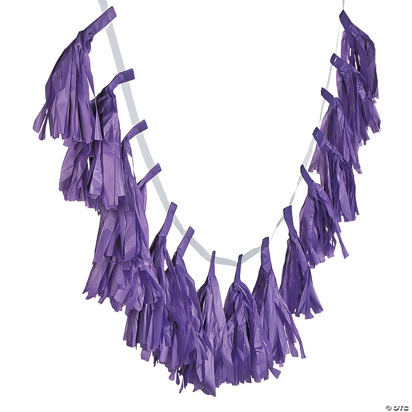 Purple Tassel Garland Audio Thumbnail
