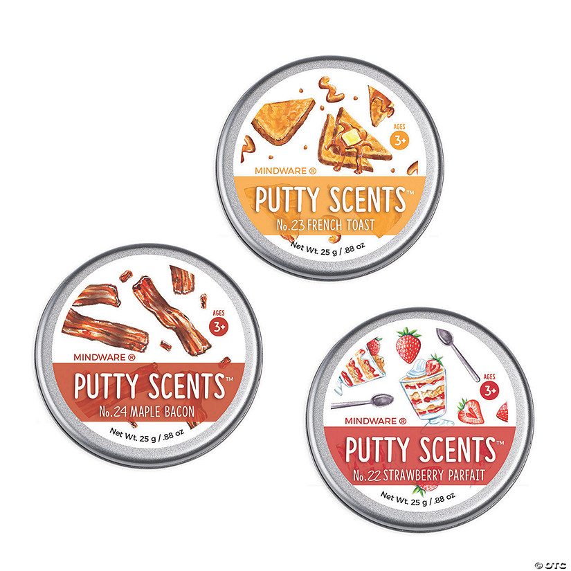 Putty Scents: Set of 3 Breakfast Cafe Audio Thumbnail