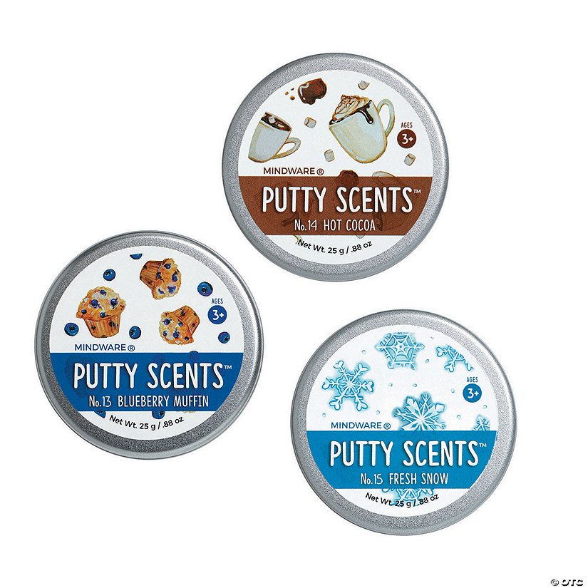 Putty Scents Set of 3: Winter Cheer