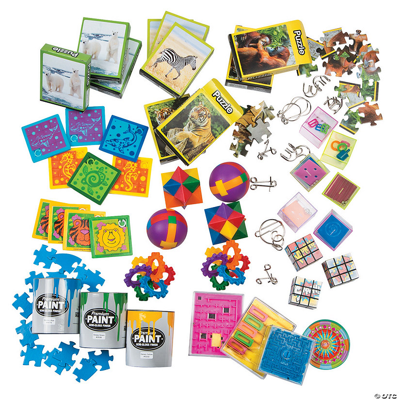 Puzzle Assortment Image Thumbnail