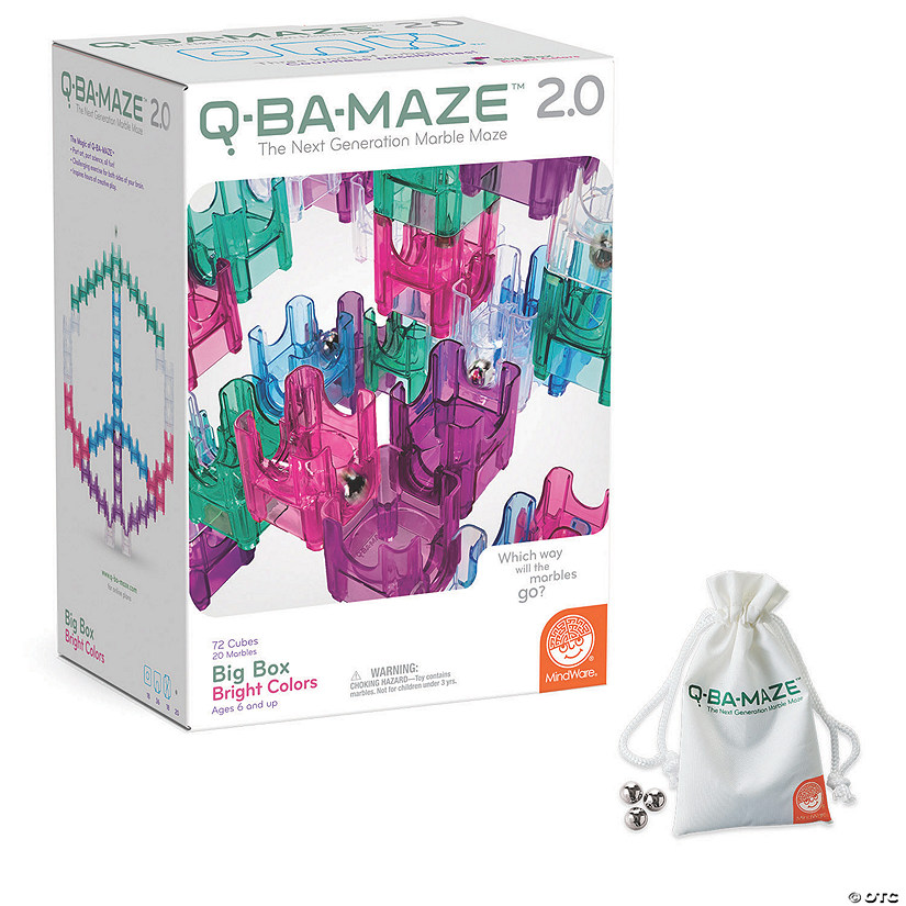 Q-BA-MAZE 2.0: Big Box Bright Colors plus FREE Marble Pack Audio Thumbnail
