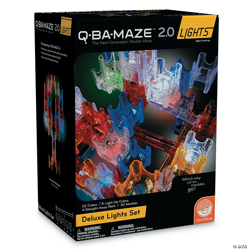 Q-BA-MAZE 2.0: Deluxe Lights Set Image Thumbnail