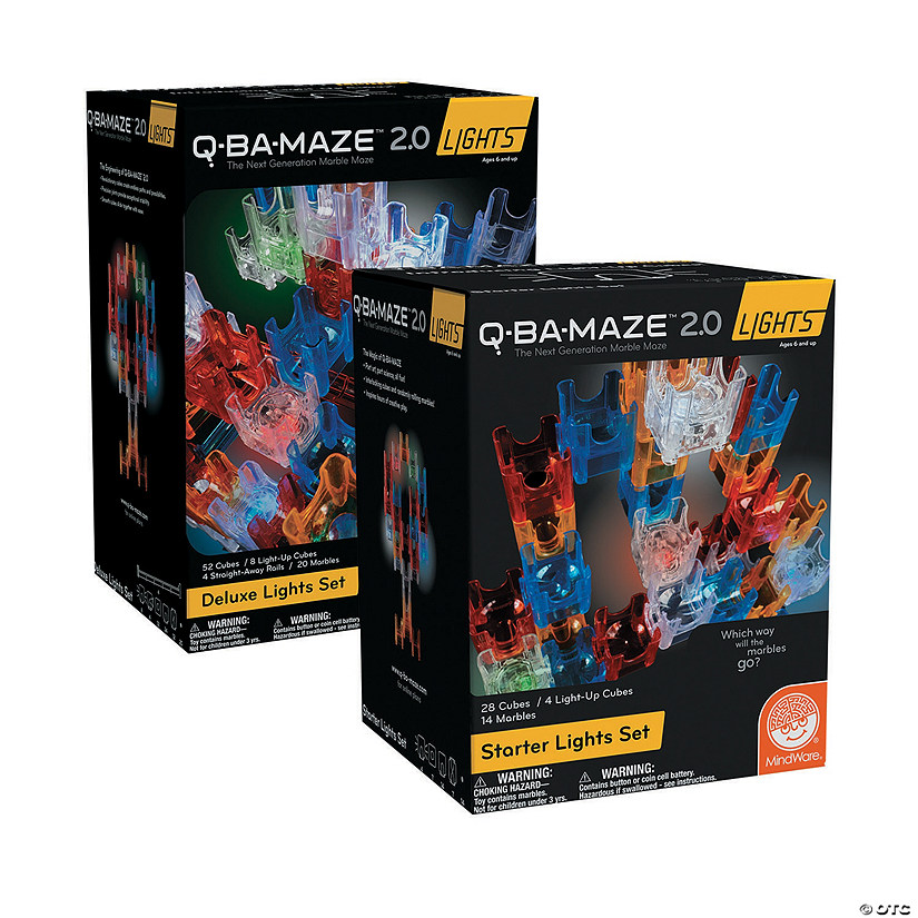 Q-BA-MAZE 2.0 Lights Set of 2