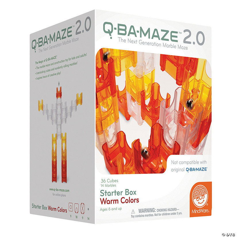Q-BA-MAZE 2.0: Starter Box - Warm Colors Image Thumbnail