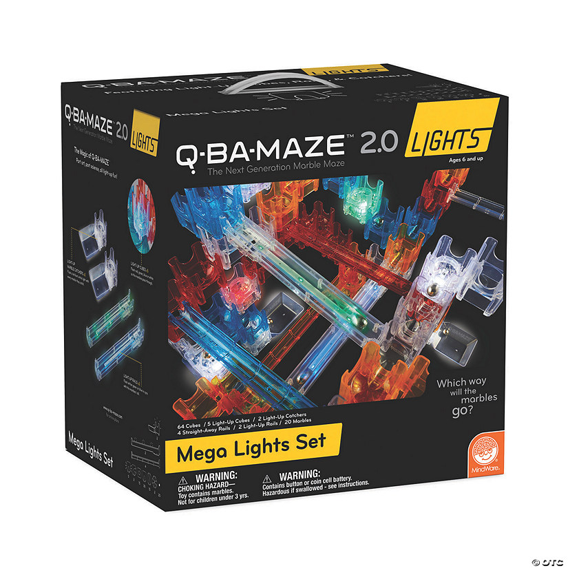 Q-Ba-Maze Mega Lights Set Image Thumbnail