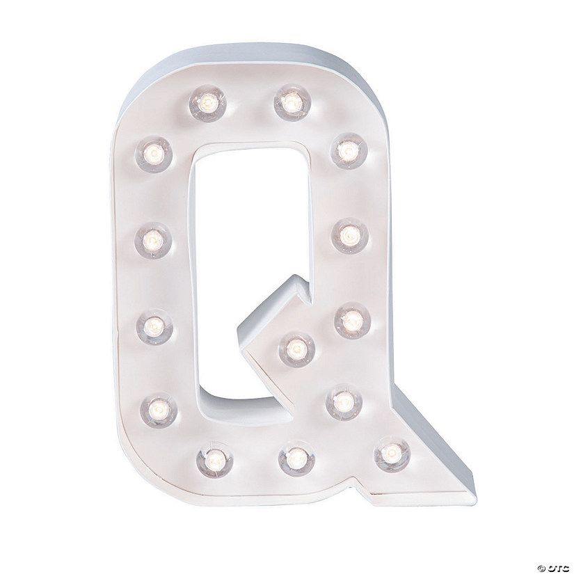 """Q"" Marquee Light-Up Kit"