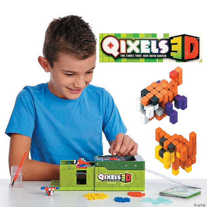 Qixels 3D Maker And Refill Kit