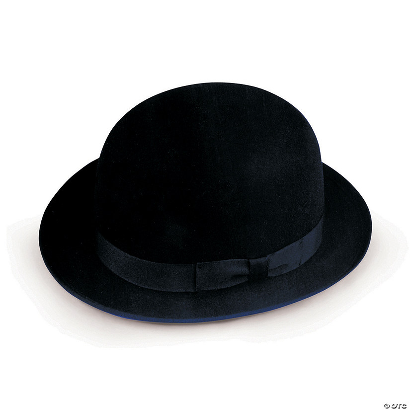 Quality Felt Costume Derby Hat Image Thumbnail