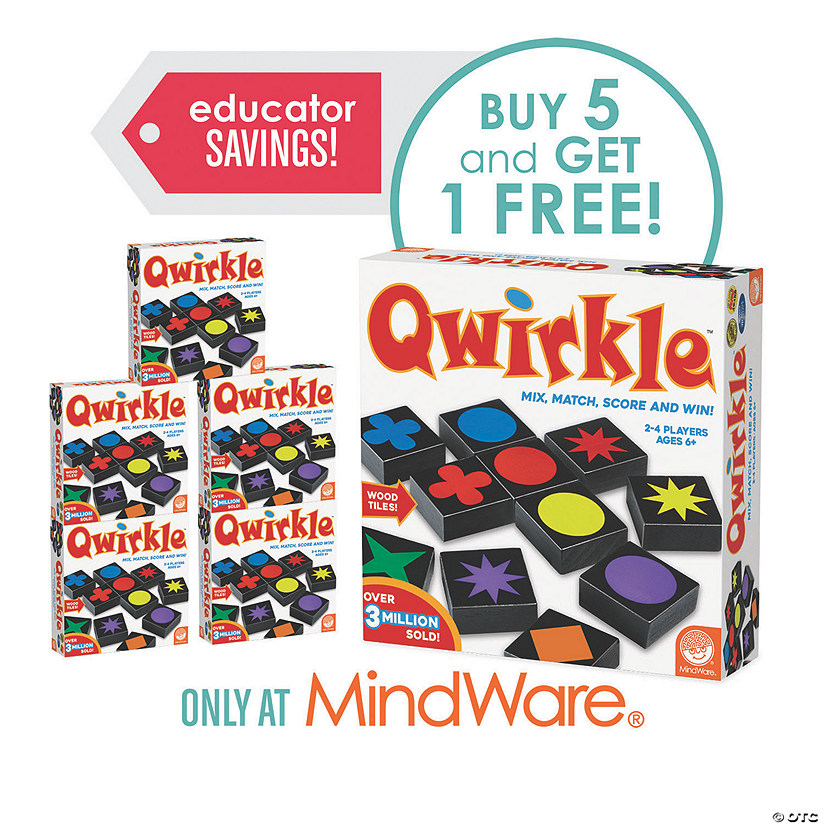 Qwirkle: Classroom Set of 6