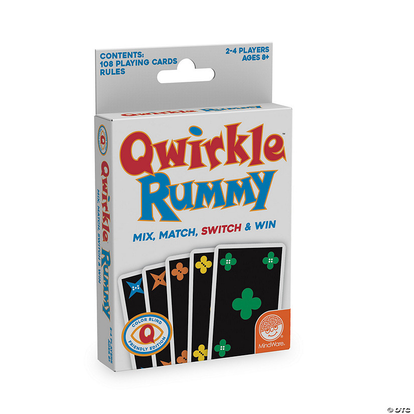 Qwirkle Rummy: Color-Blind-Friendly Edition Image Thumbnail