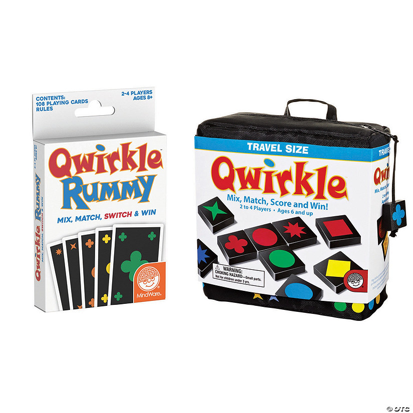 Qwirkle Travel & Qwirkle Rummy Image Thumbnail