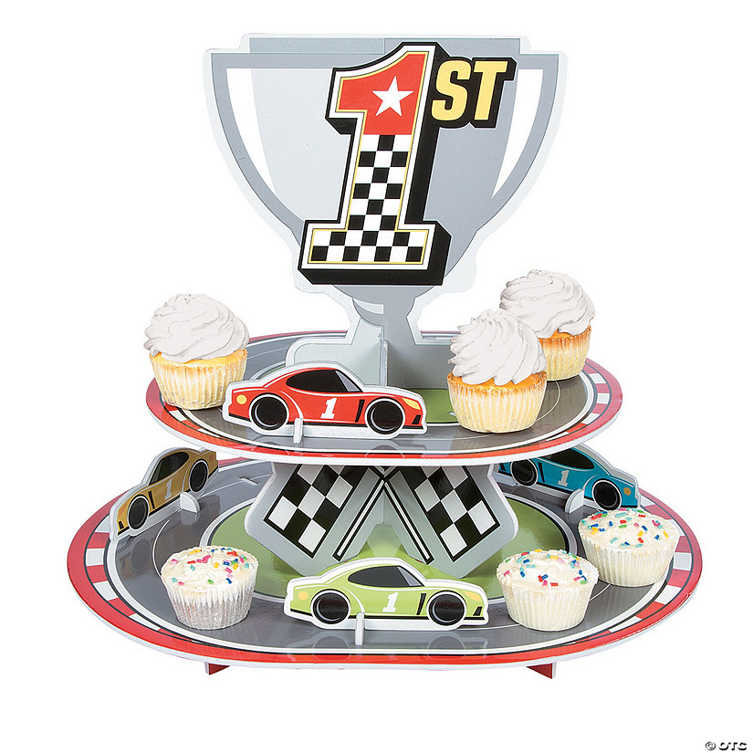 Race Car Birthday Cupcake Stand Audio Thumbnail