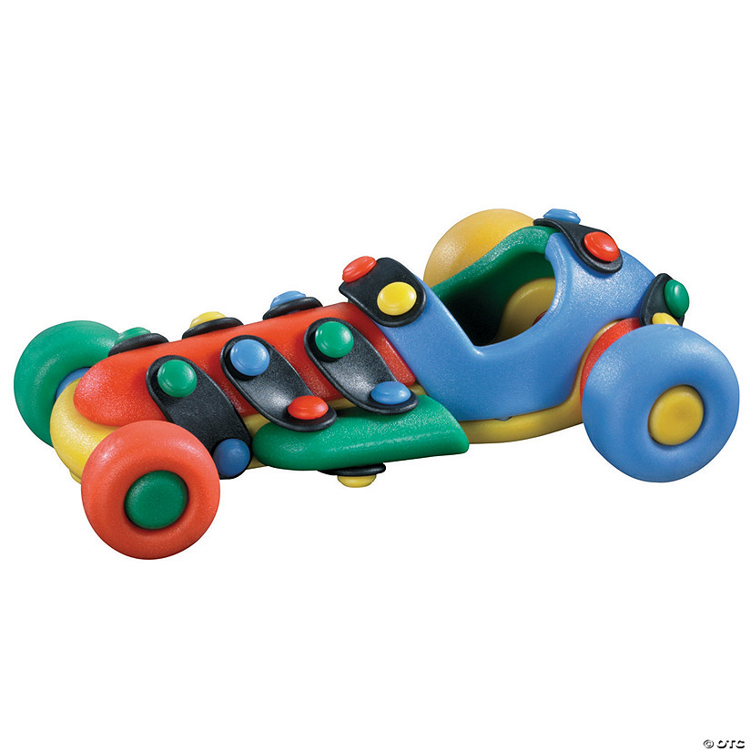 Race Car Multicolor Construction Kit