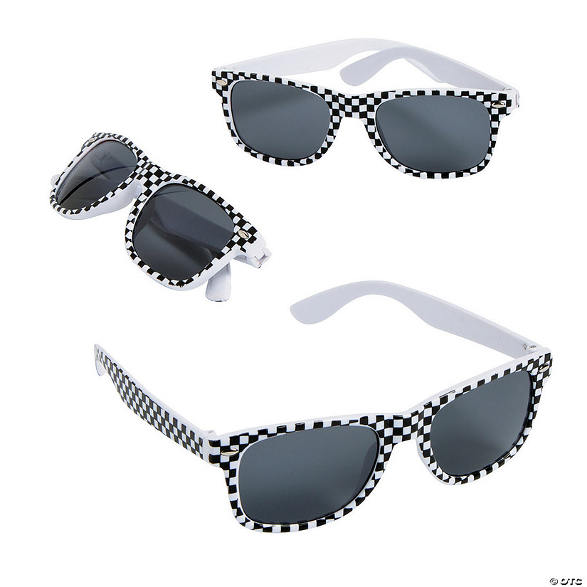 Race Car Sunglasses - 12 Pc. Image Thumbnail