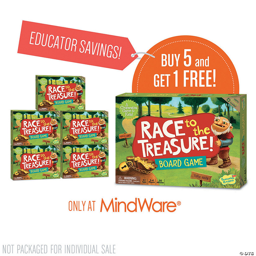 Race To The Treasure: Classroom Set of 6 Image Thumbnail